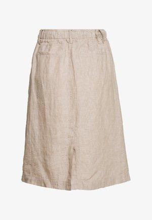RANEE - Pouzdrová sukně - creamy camel