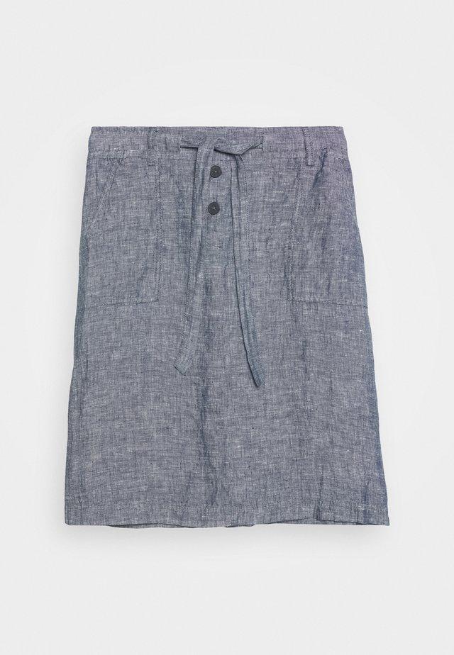 RANEE - A-snit nederdel/ A-formede nederdele - forever blue
