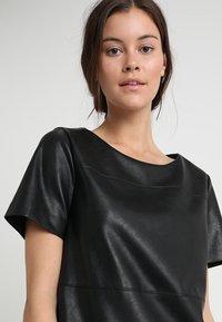 Opus - WASINE - Korte jurk - black - 4