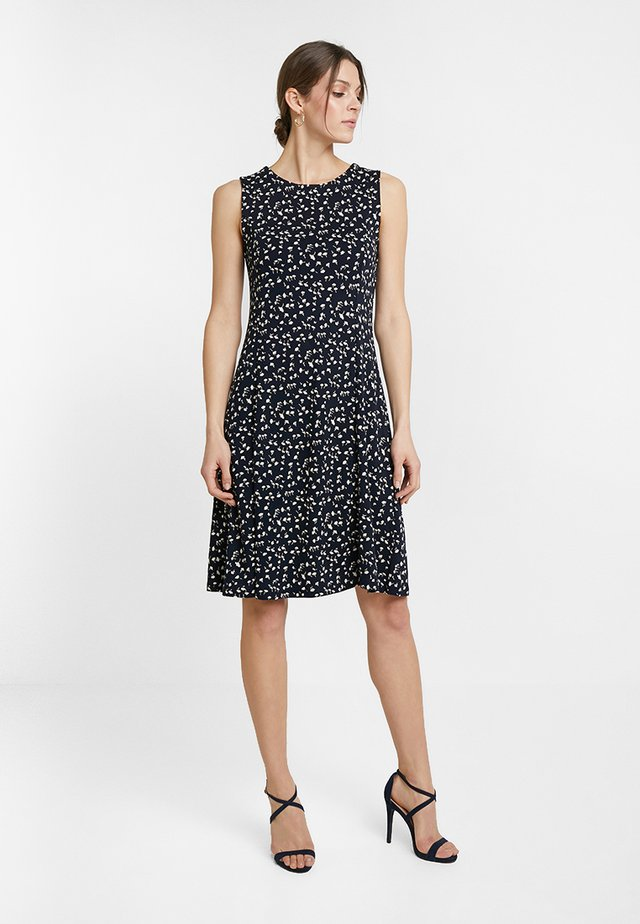 WENKY MILLE FLEURS - Jersey dress - simply blue