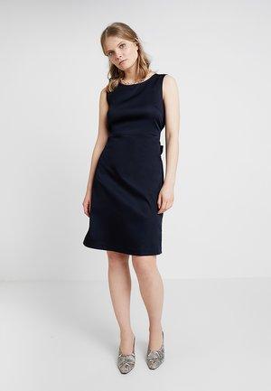WELIA SOLID - Pouzdrové šaty - simply blue