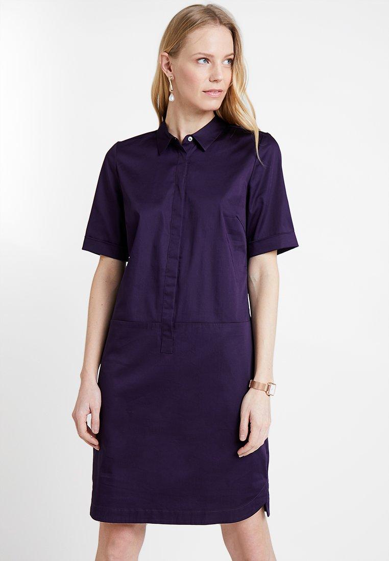Opus - WILLMARI - Shirt dress - dark wine