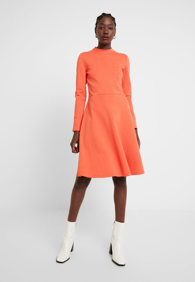 WONITA - Jersey dress - fresh coral