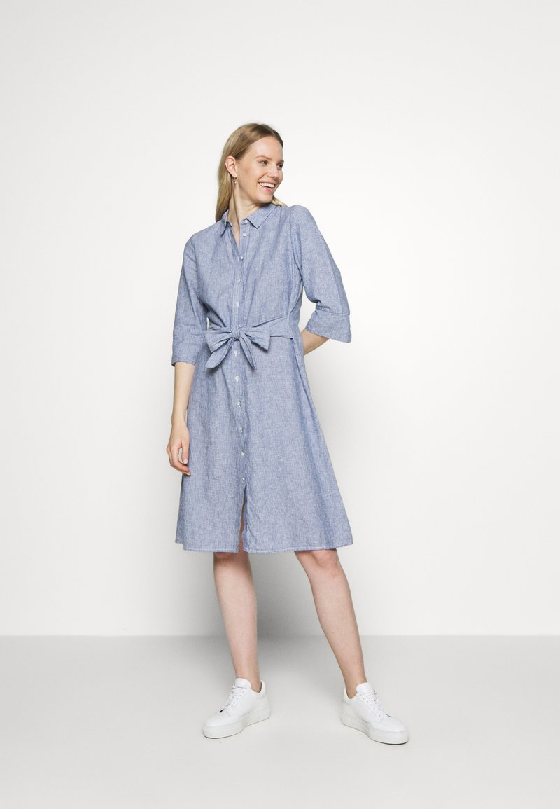 Opus - WUTA - Shirt dress - forever blue