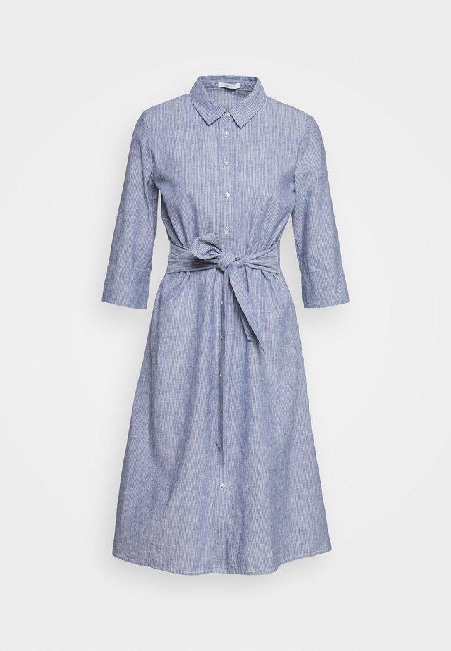 WUTA - Skjortekjole - forever blue