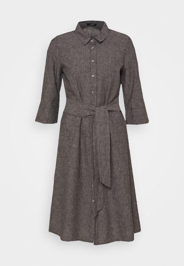 WUTA - Košilové šaty - black