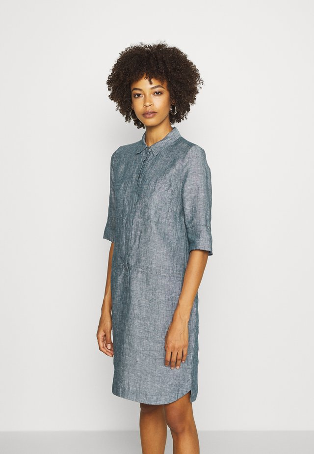 WILLMAR - Shirt dress - forever blue