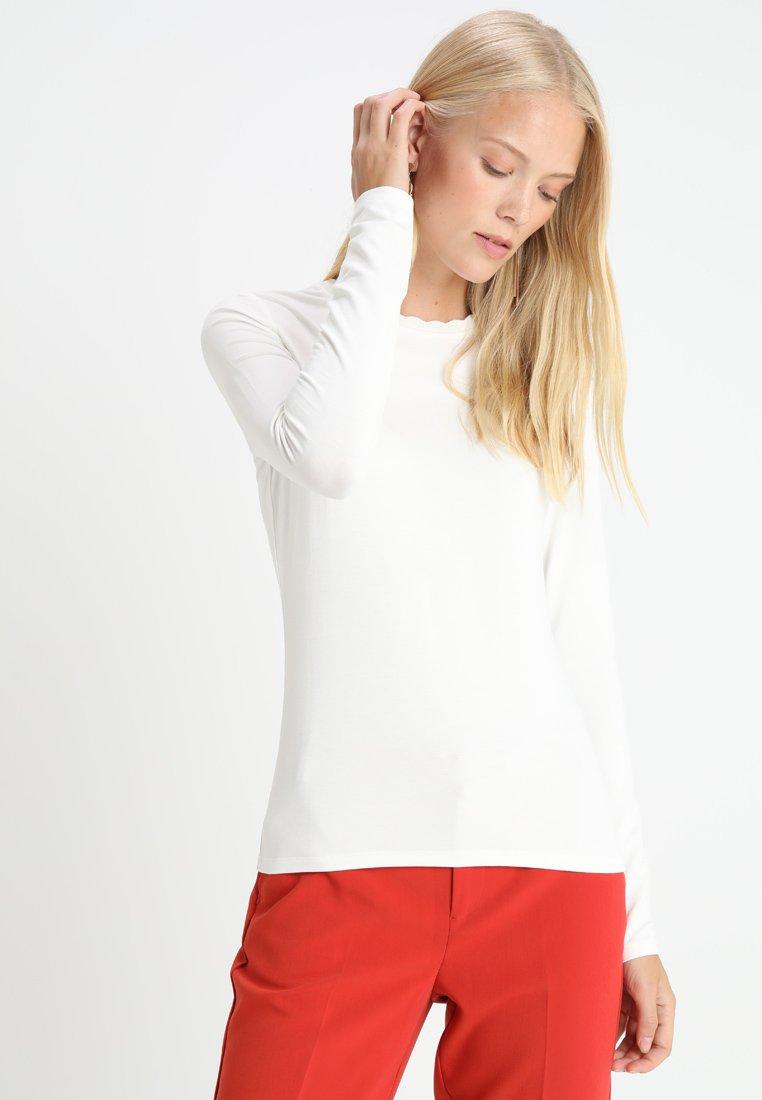 Opus - SUVIA - Long sleeved top - milk