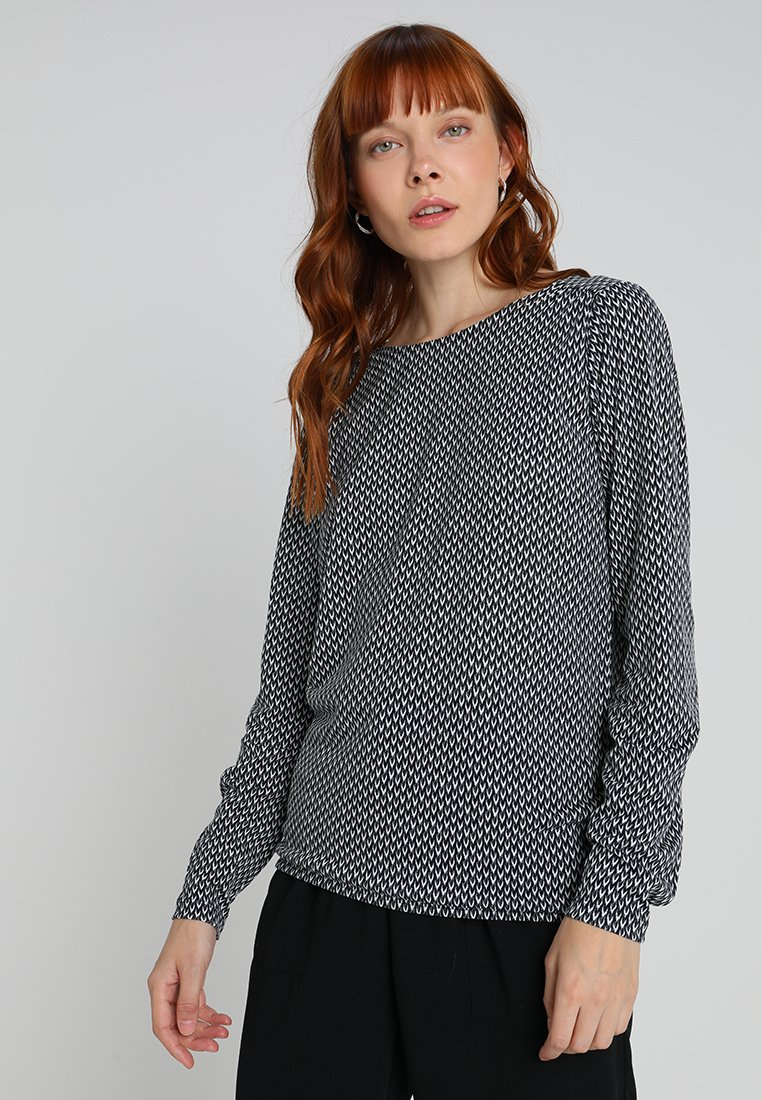 Opus - SUPER SCALE - Long sleeved top - simply blue