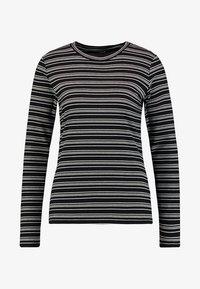 Opus - SNEZA - T-shirt à manches longues - black - 3
