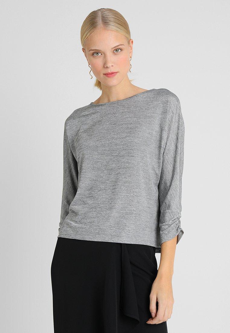 Opus - SOLLIE - Langarmshirt - iron grey melange