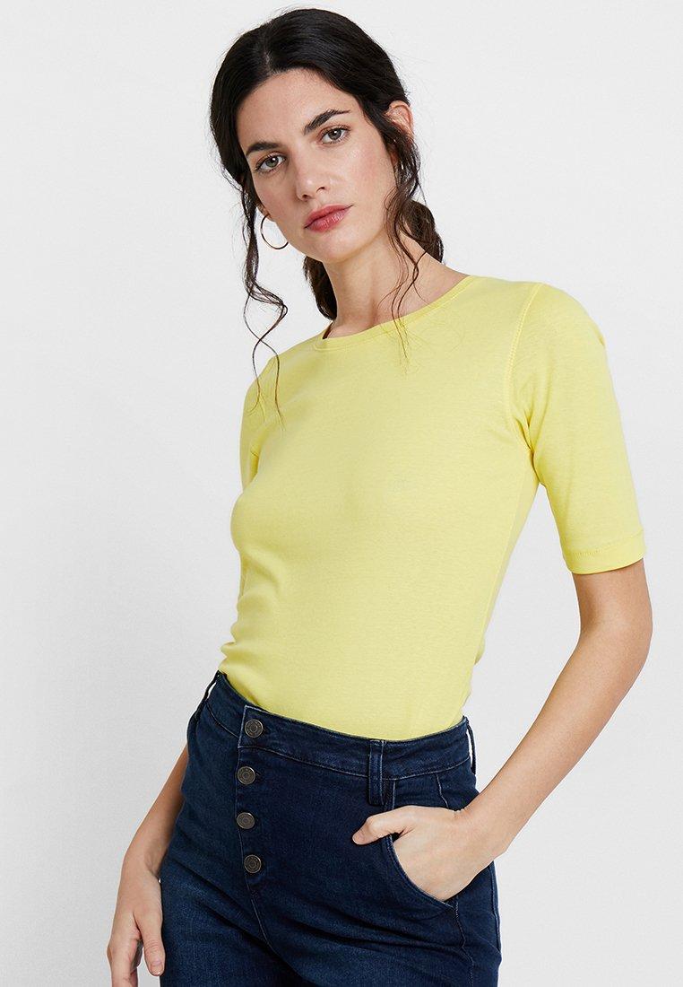 Opus - DAILY  - Basic T-shirt - mellow yellow