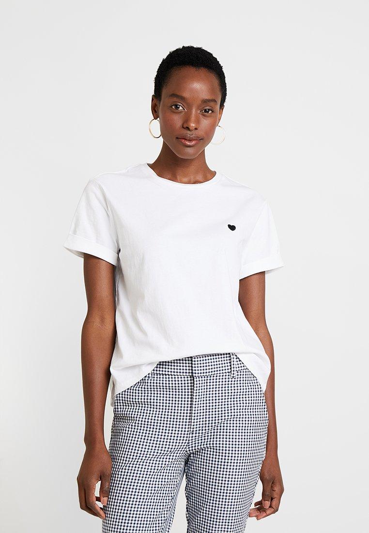 Opus - T-Shirt print - white
