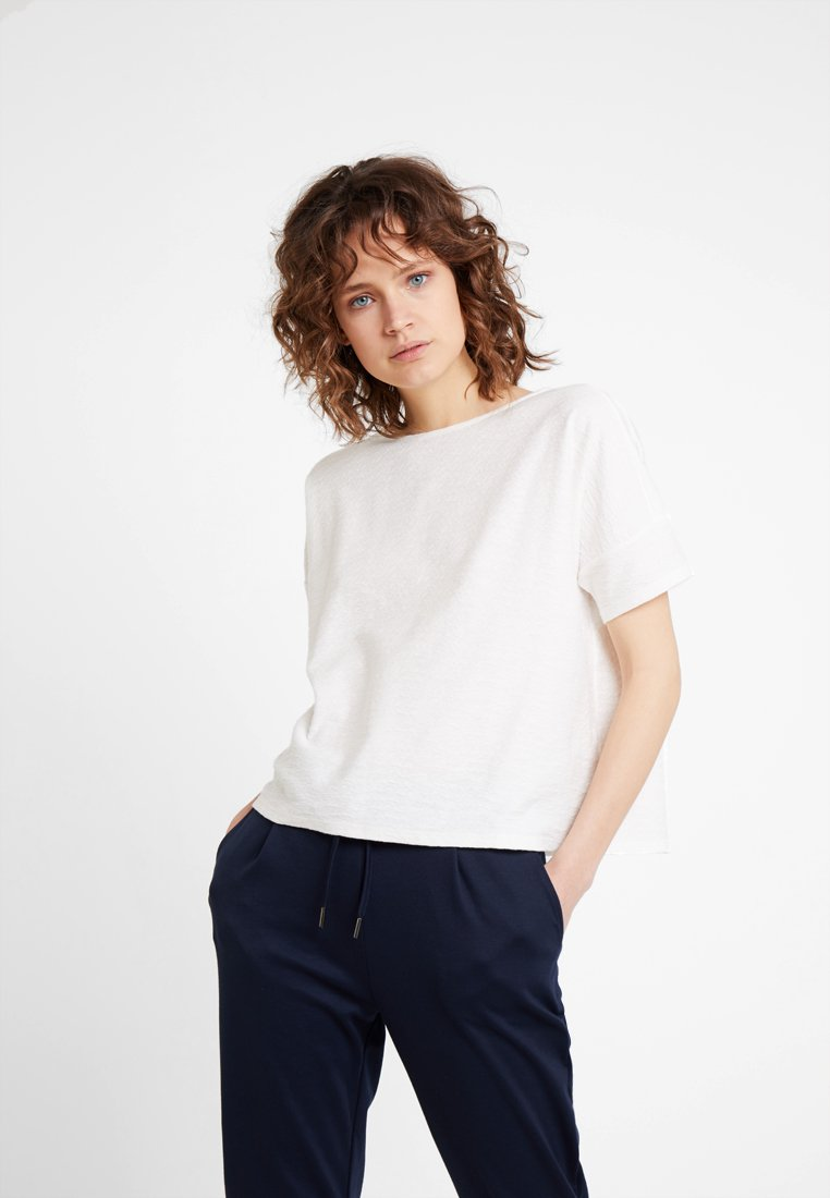 Opus - SIGRONE - Basic T-shirt - milk