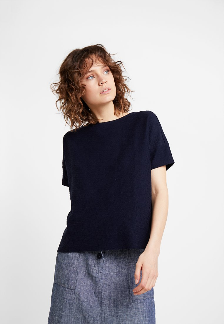 Opus - SIGRONE - T-Shirt basic - simply blue