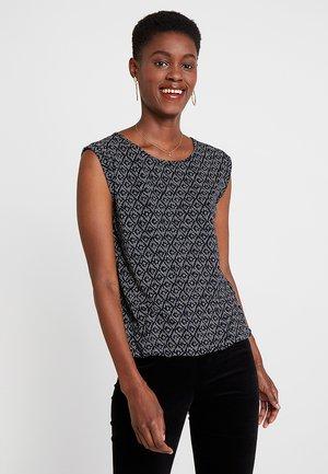 STROLCHI RHOMB - Camiseta estampada - simply blue
