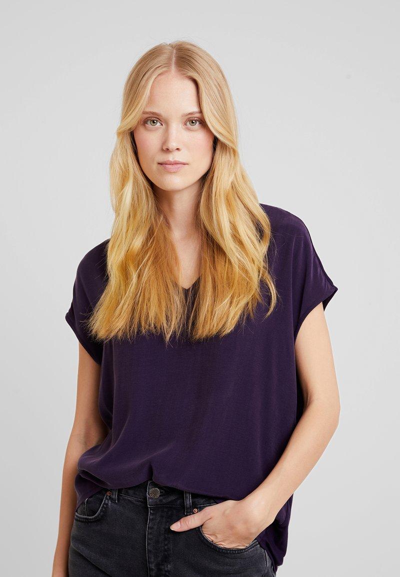 Opus - SILVIA - Bluse - dark violet