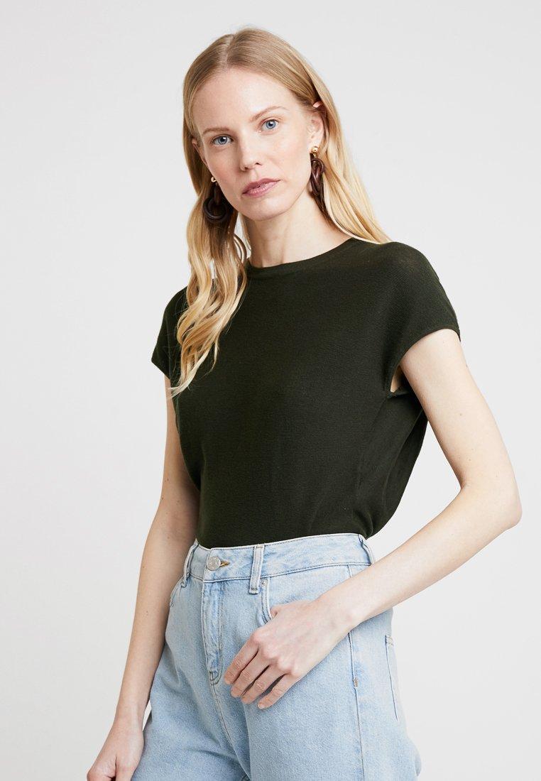 Oliv shirt Opus Basique Green PierkeT c1lKFJ