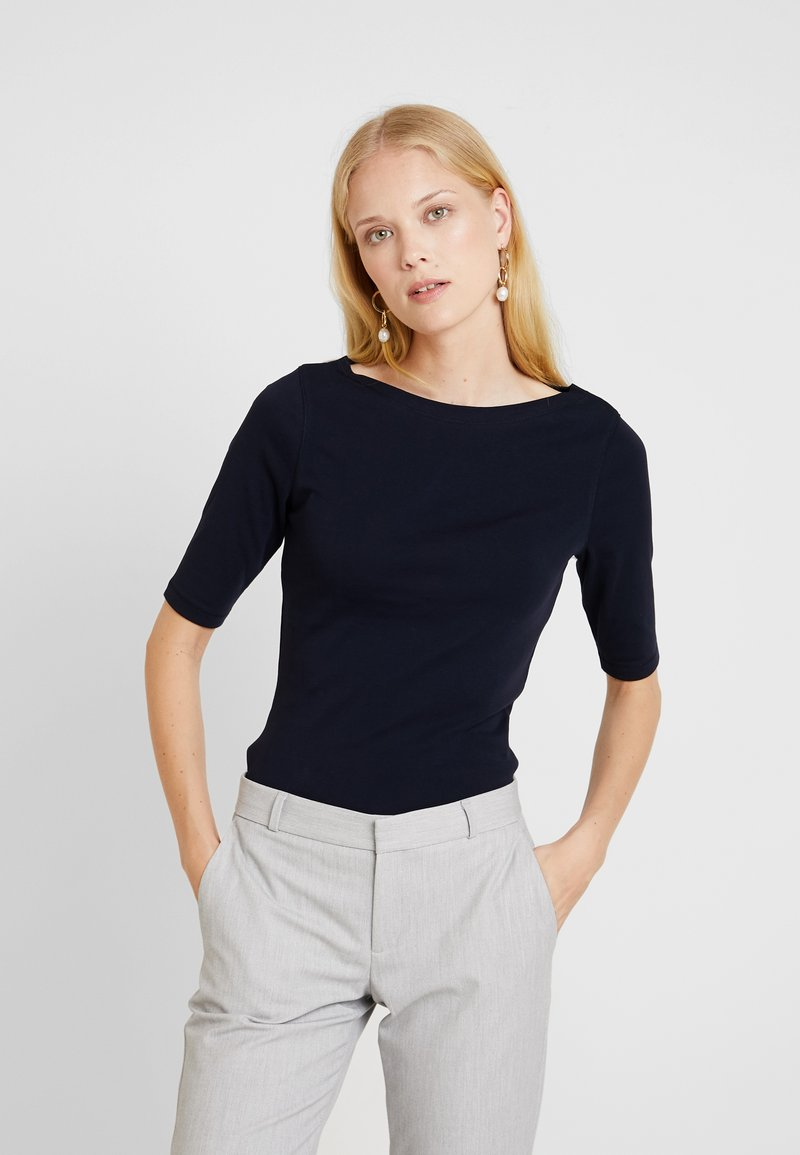 Opus - DAILY - T-Shirt basic - simply blue