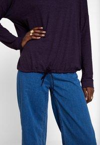 Opus - SILKINA - Long sleeved top - dark violet - 4