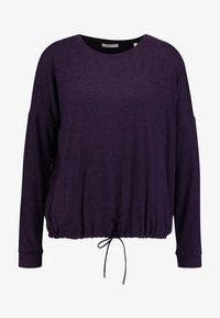Opus - SILKINA - Long sleeved top - dark violet - 3