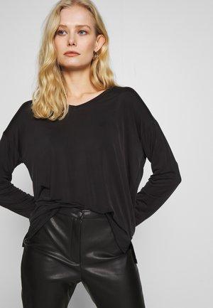 SONGI  - Maglietta a manica lunga - black