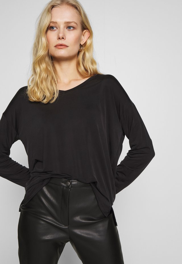 SONGI  - Long sleeved top - black