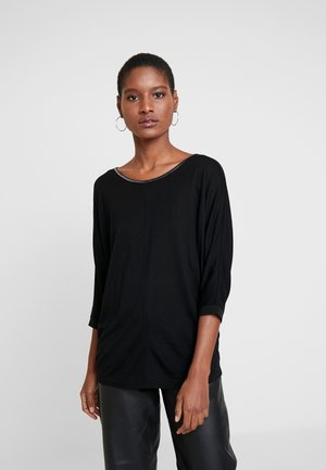 SELLINA - Long sleeved top - black
