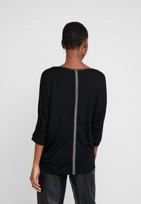 Opus - SELLINA - Maglietta a manica lunga - black - 2