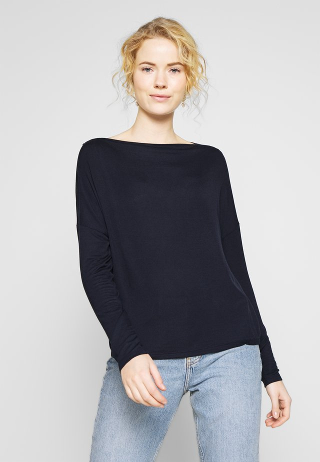 SODA - Long sleeved top - just blue