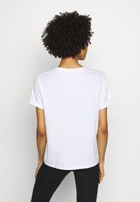 Opus - SERZ - Basic T-shirt - white - 2