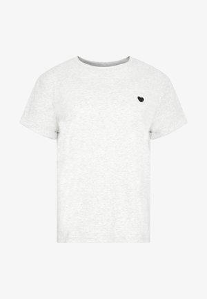SERZ - T-Shirt print - iron grey melange