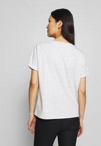 Opus - SERZ - T-shirt basic - iron grey melange - 2