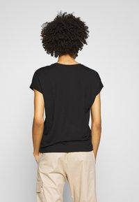 Opus - SUDELLA CROCHET - T-shirt basic - black - 2