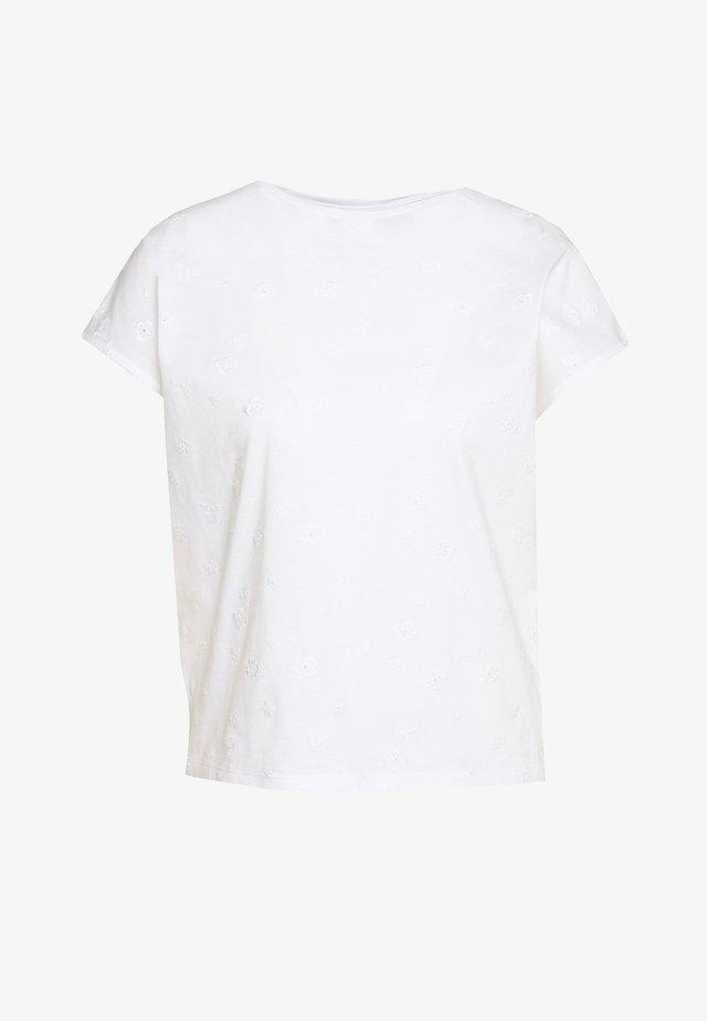 SLUME - Print T-shirt - white