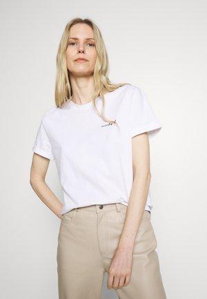 SLOWO - Print T-shirt - white