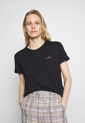 SLOWO - T-shirt z nadrukiem - black