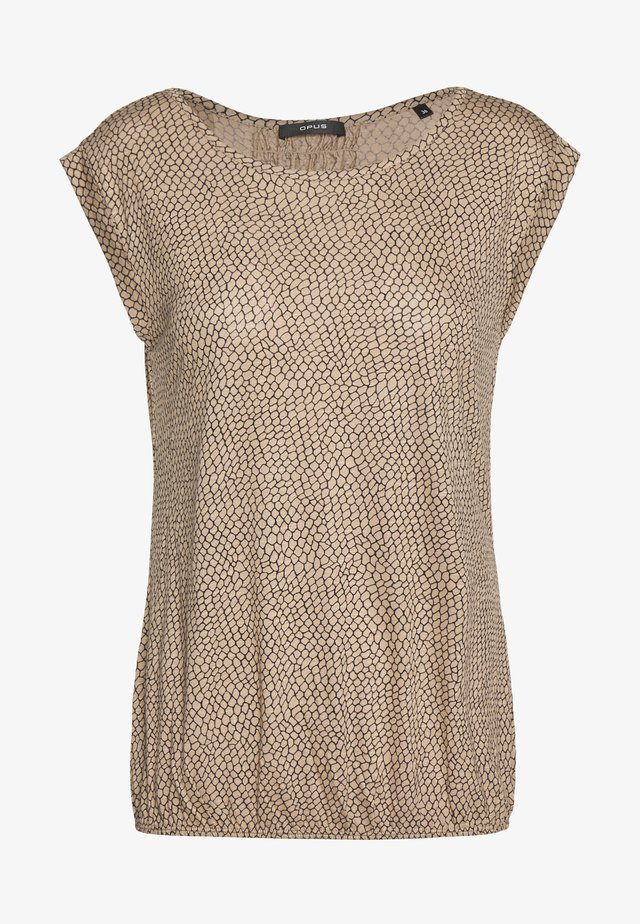 STROLCHI REPTILE - T-Shirt print - creamy camel