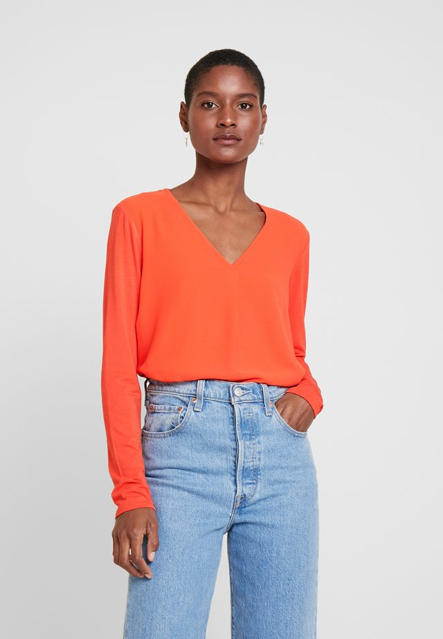 FASINA - Blouse - fresh coral