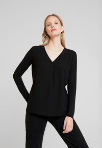 Opus - FASINA - Blouse - black - 0