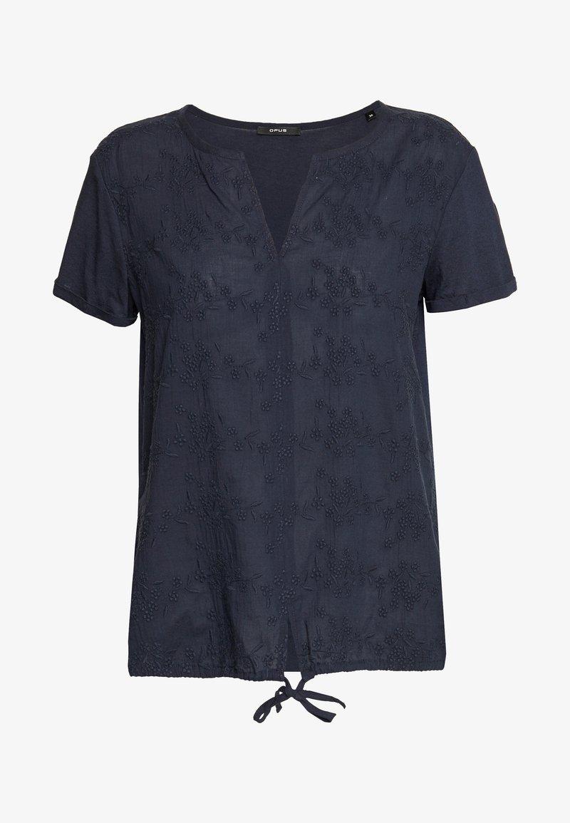 Opus - FALERIA - Bluser - dark blue
