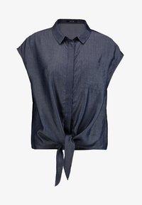Opus - FALIM - Button-down blouse - authentic blue - 4