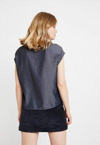 Opus - FALIM - Button-down blouse - authentic blue - 2