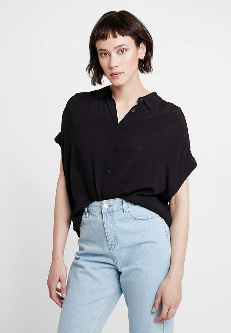 Opus - FAWELL - Button-down blouse - black
