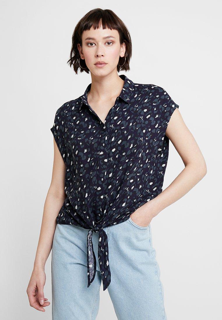 Opus - FALIM LEO - Button-down blouse - simply blue