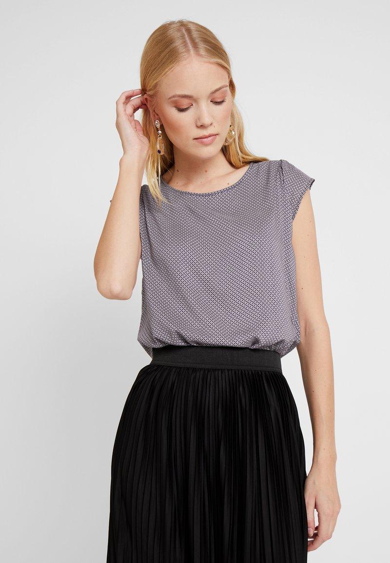 Opus - FANNIE - Bluse - dark violet