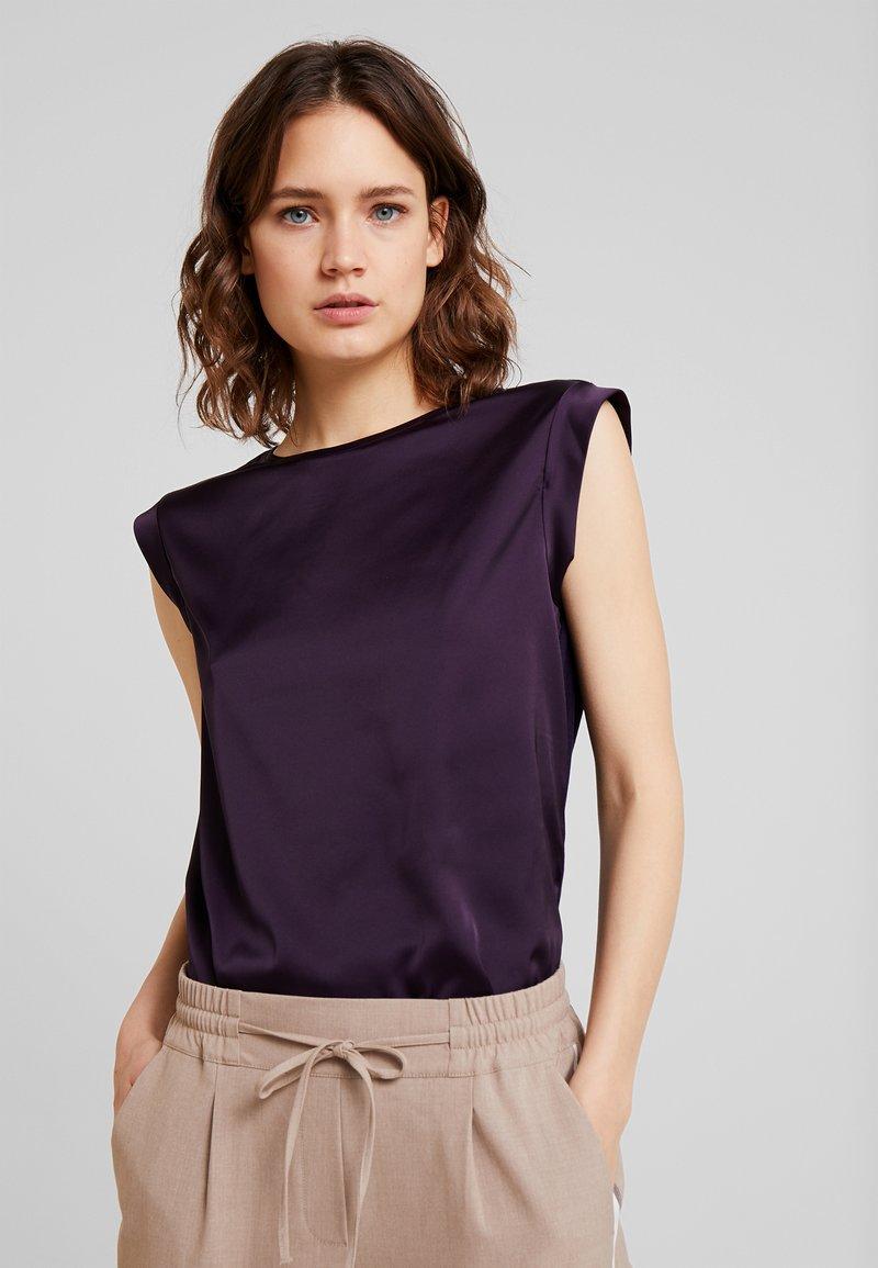 Opus - FABIOLE - Bluse - dark violet