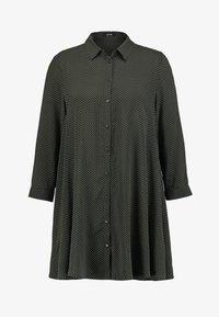 Opus - FLORENZE - Overhemdblouse - oliv green - 4
