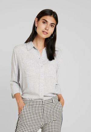FADO - Button-down blouse - iron grey melange