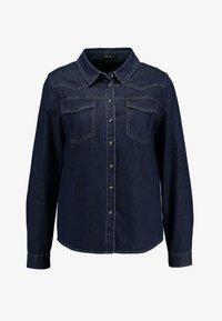Opus - FEDELE - Button-down blouse - cosmic blue - 4
